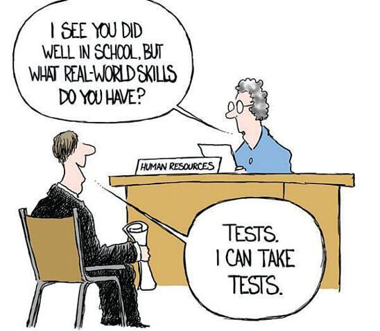 Real-World Experience vs. School Education