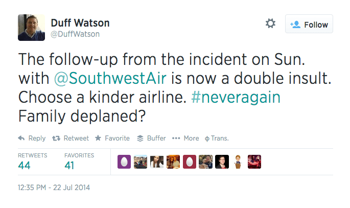 Social Listening Gone Wrong: Southwest Polices Tweets