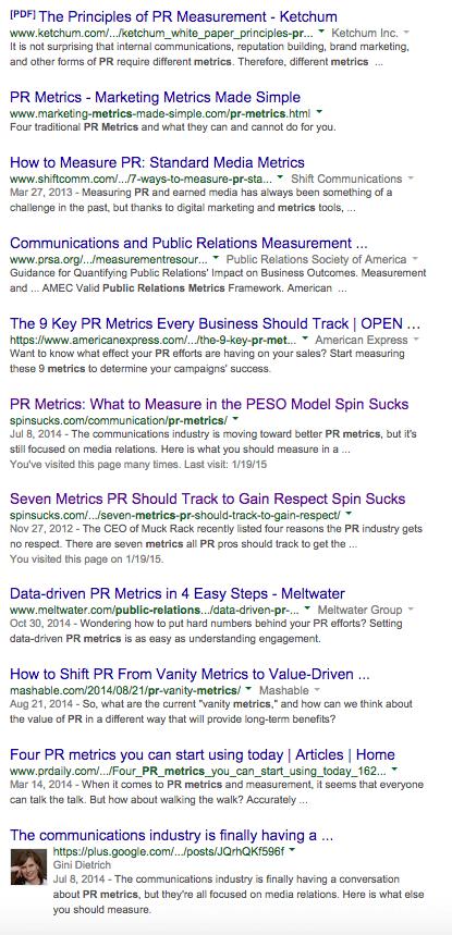 PR Metrics Incognito