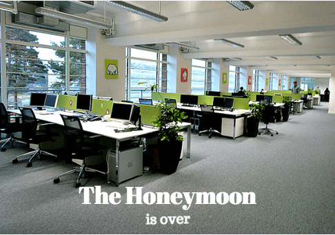 The End of the Open Office Honeymoon