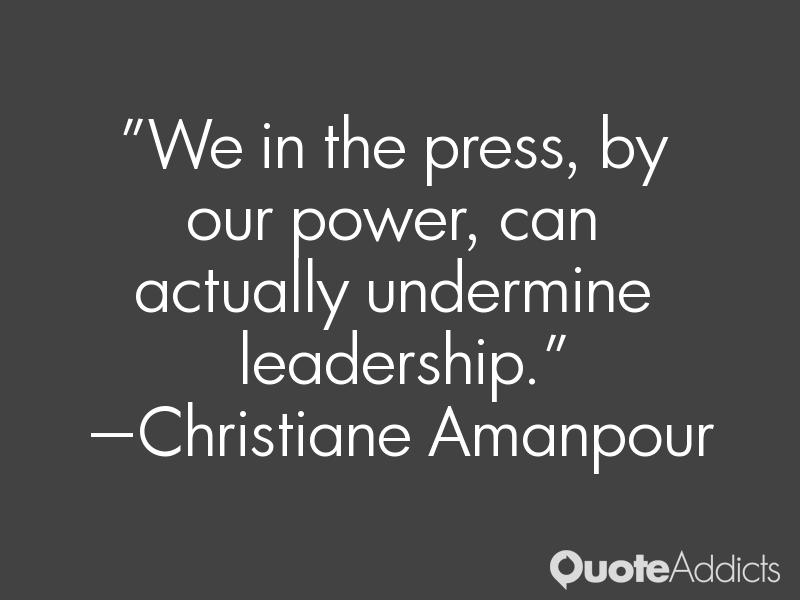 Undermine Leadership