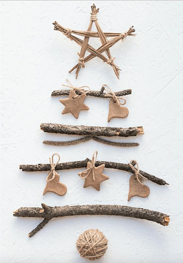 Holiday Hashtag Tree