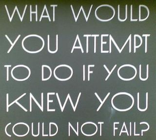 Why Are People Afraid of Failure