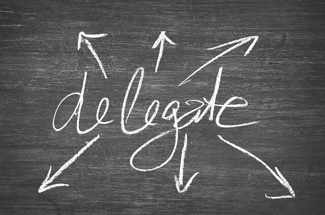 Task Delegation for Control Freaks: STop, Drop, Delegate