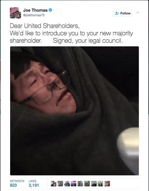 United Airlines Crisis Communications