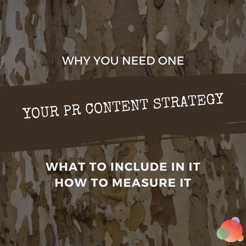 Your PR Content Strategy