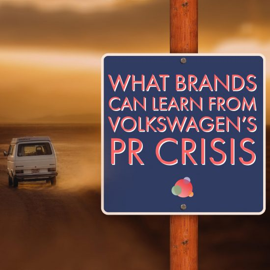 What Brands Can Learn From Volkswagen's PR Crisis