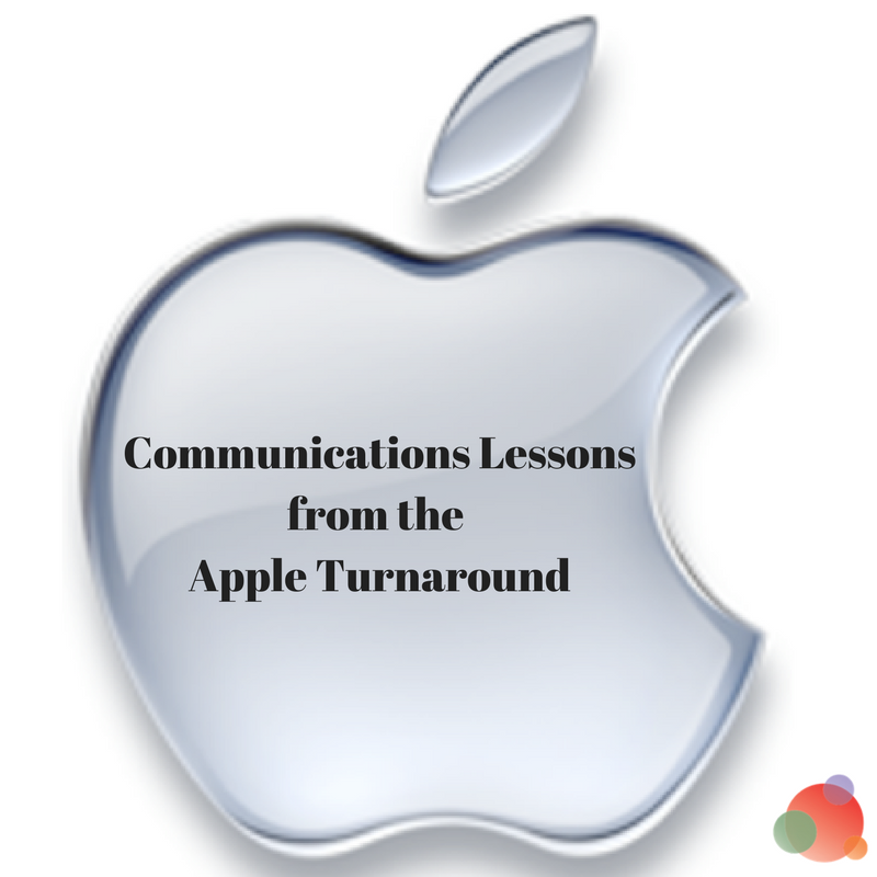 Communications Lessons from the Apple Turnaround