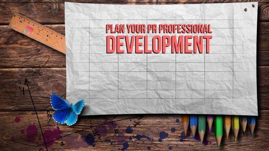 Plan your PR Professional Development