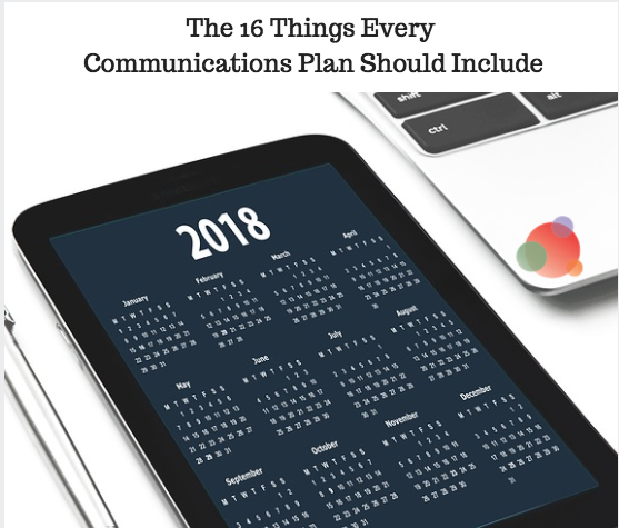 The 16 Things Every Communications Plan Should Include