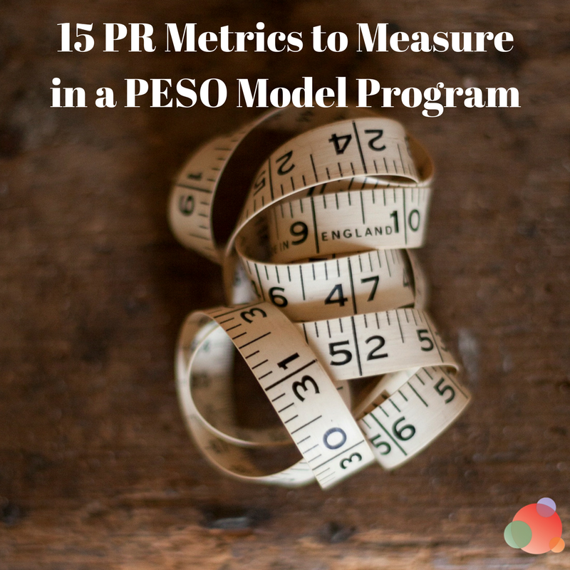 15 PR Metrics to Measure in a PESO Model Program