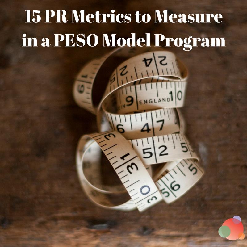 15 PR Metrics to Measure in a PESO Model Program