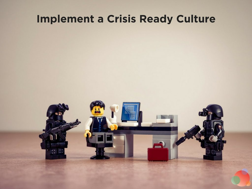 Implement a Crisis Ready Culture