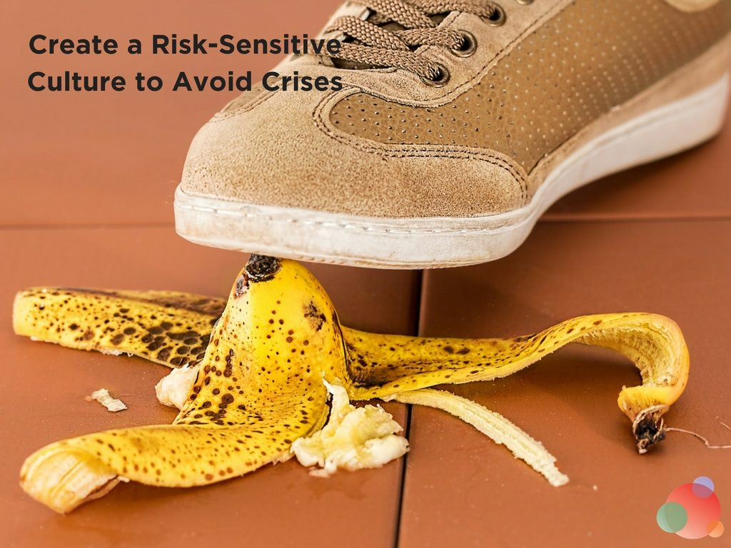 Create a Risk-Sensitive Culture to Avoid Crises