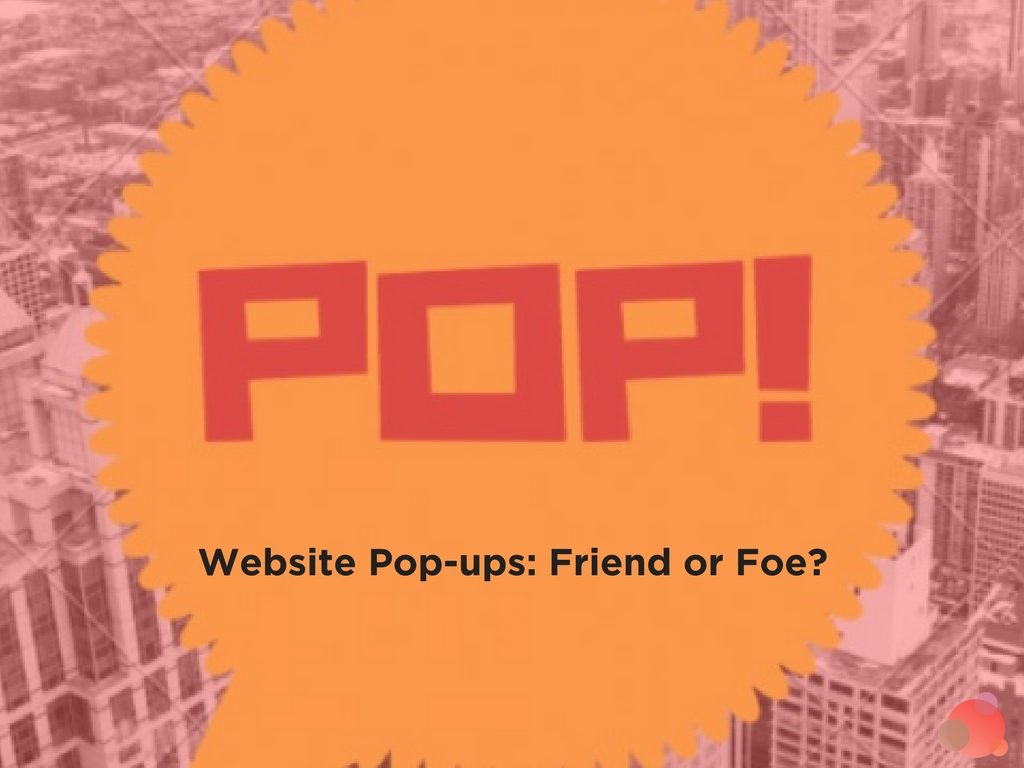 Website Pop-ups