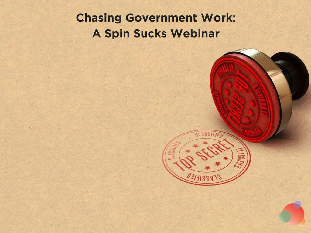 Chasing Government Work