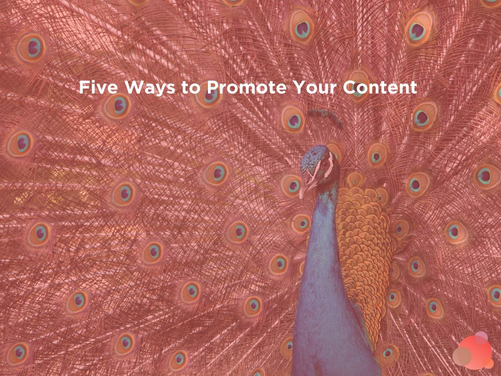 Blog Checklist: Five Ways to Promote Your Content