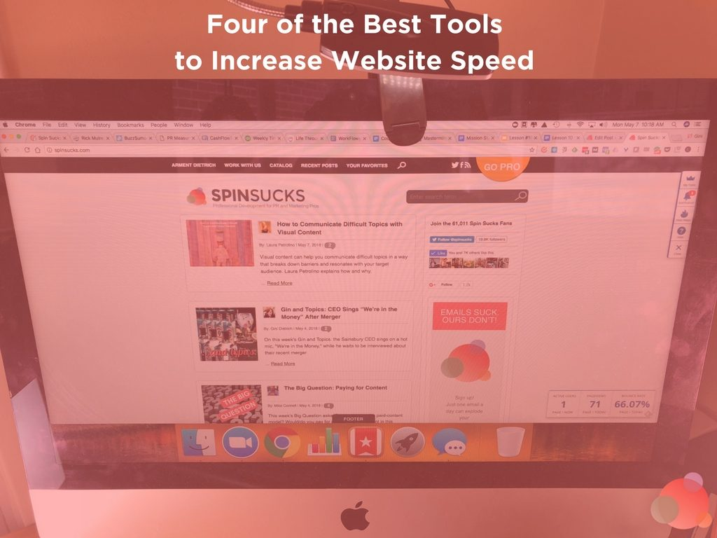 Four of the Best Tools to Increase Website Speed