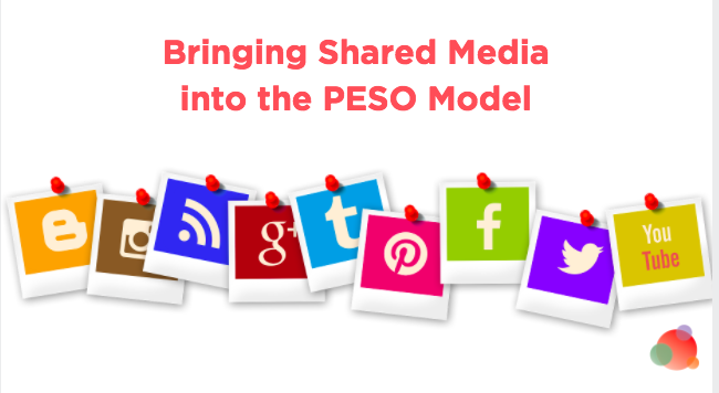 Shared Media in the PESO Model
