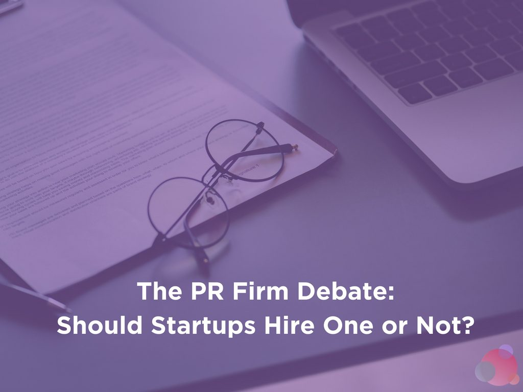 The PR Firm Debate