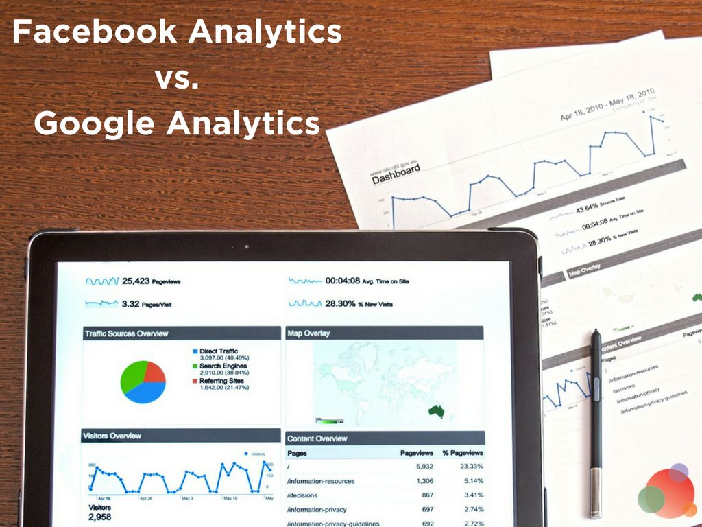 Facebook Analytics vs. Google Analytics