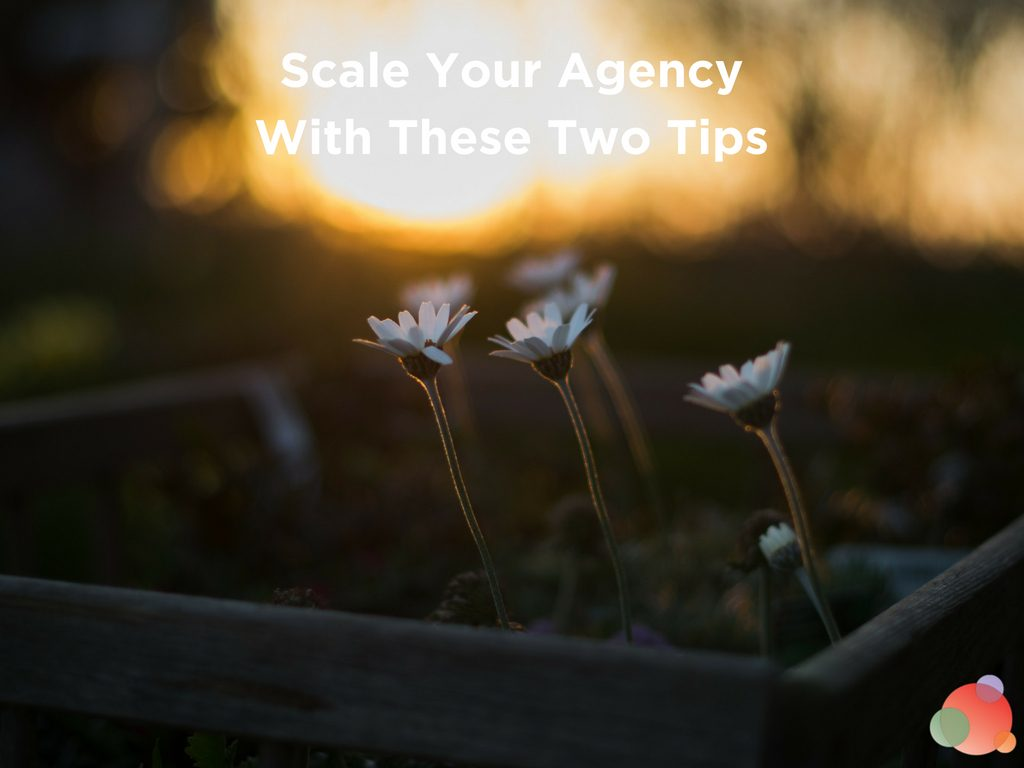 Scale Your Agency With These Two Tips