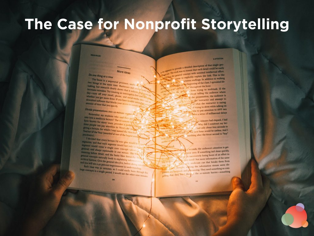 The Case for Nonprofit Storytelling