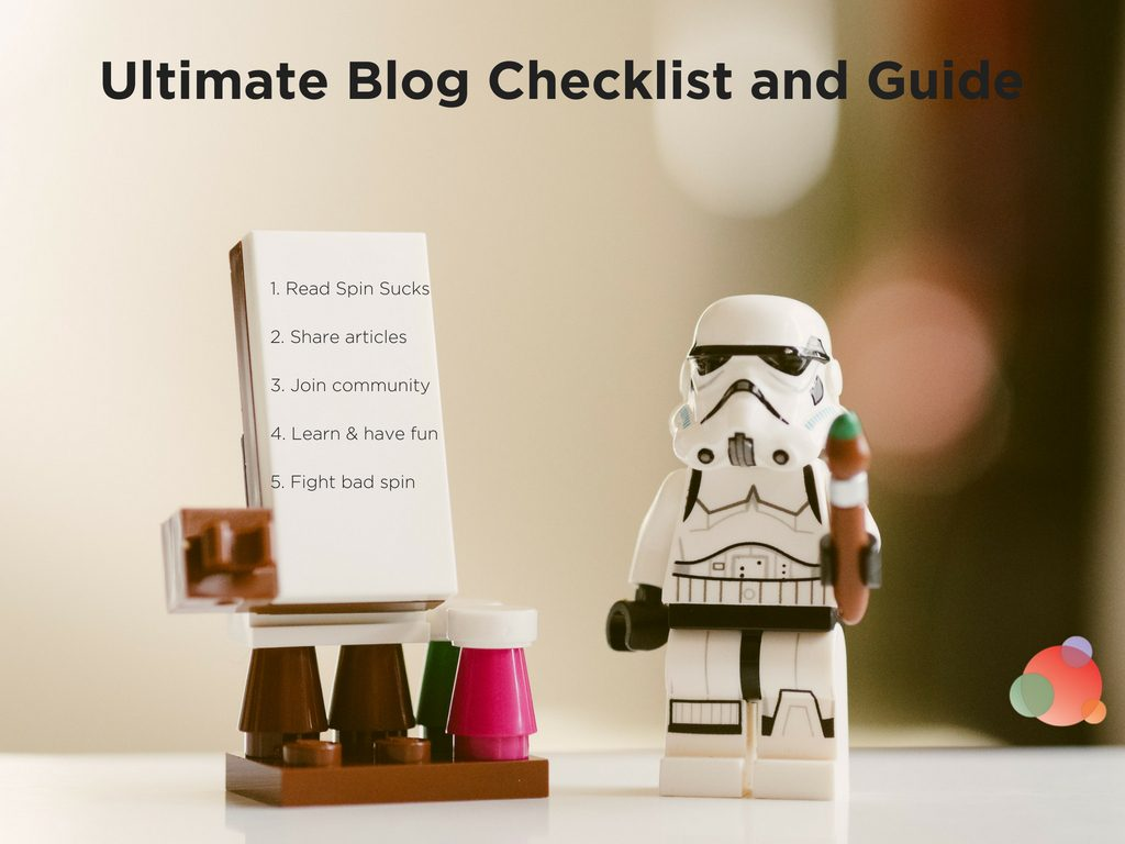 Ultimate Blog Checklist and Guide