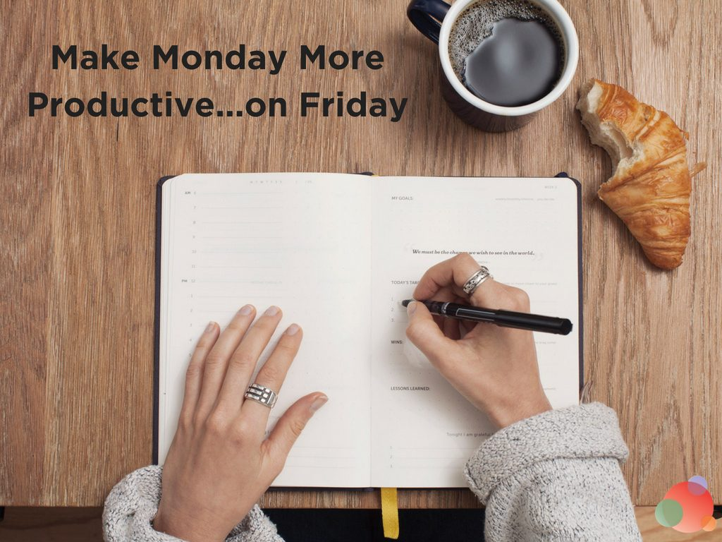 Make Monday More Productive ...on Friday