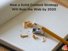 How a Solid Content Strategy Will Rule the Web by 2020