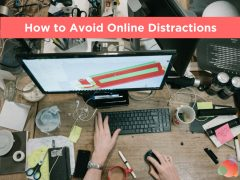How to Avoid Online Distractions