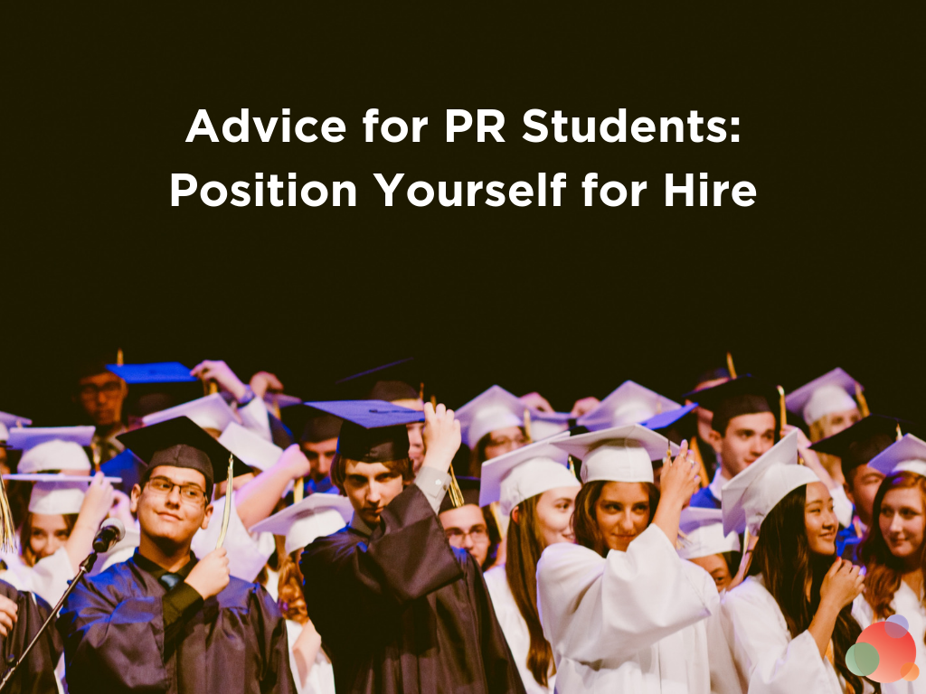 tips for pr students