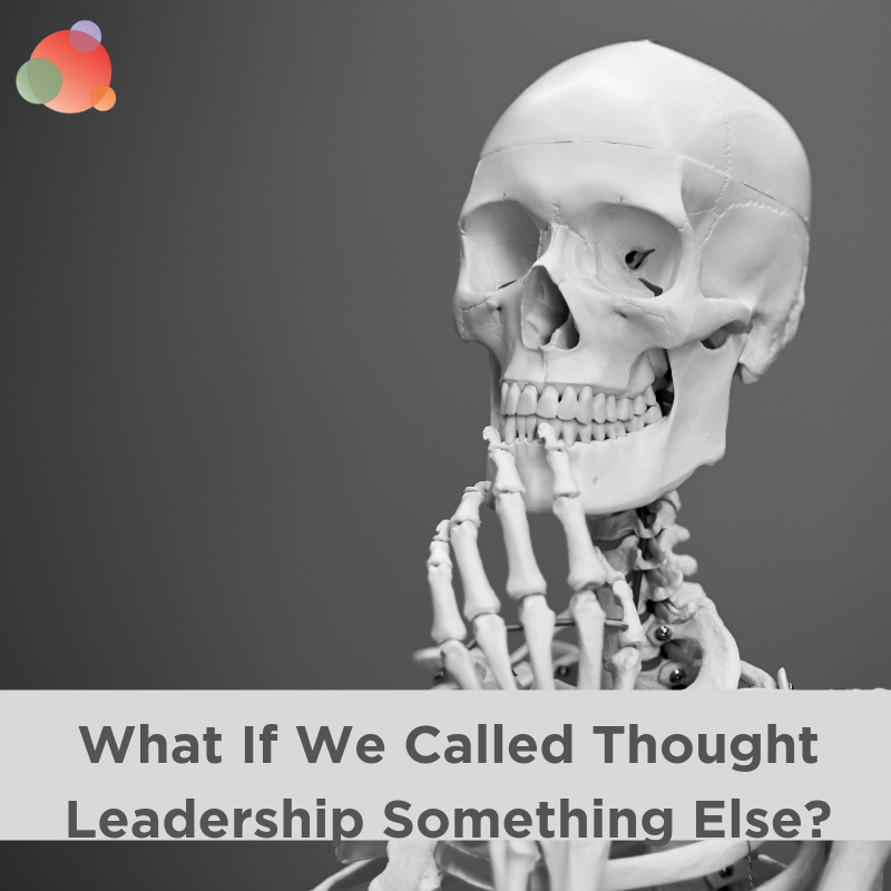 What If We Called Thought Leadership Something Else_