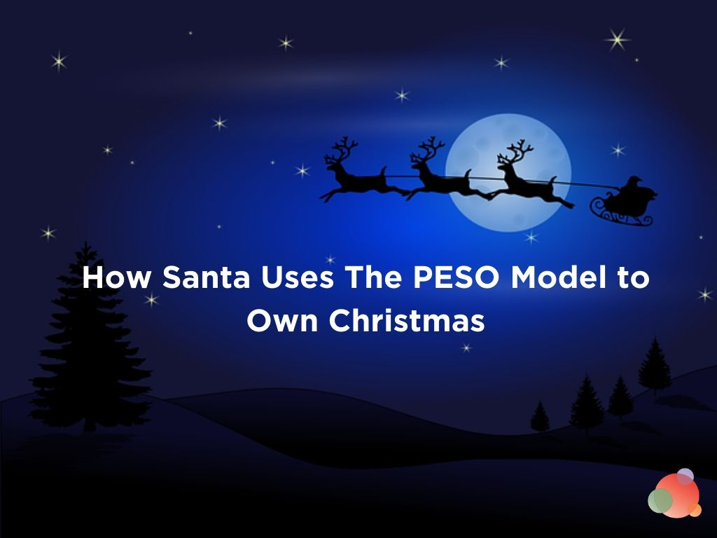 How Santa Uses The PESO Model to Own Christmas