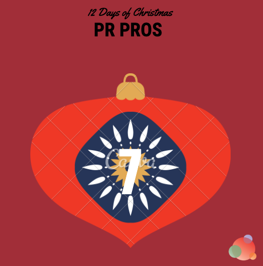 12 Days of Christmas: Seven PR Pros to Follow