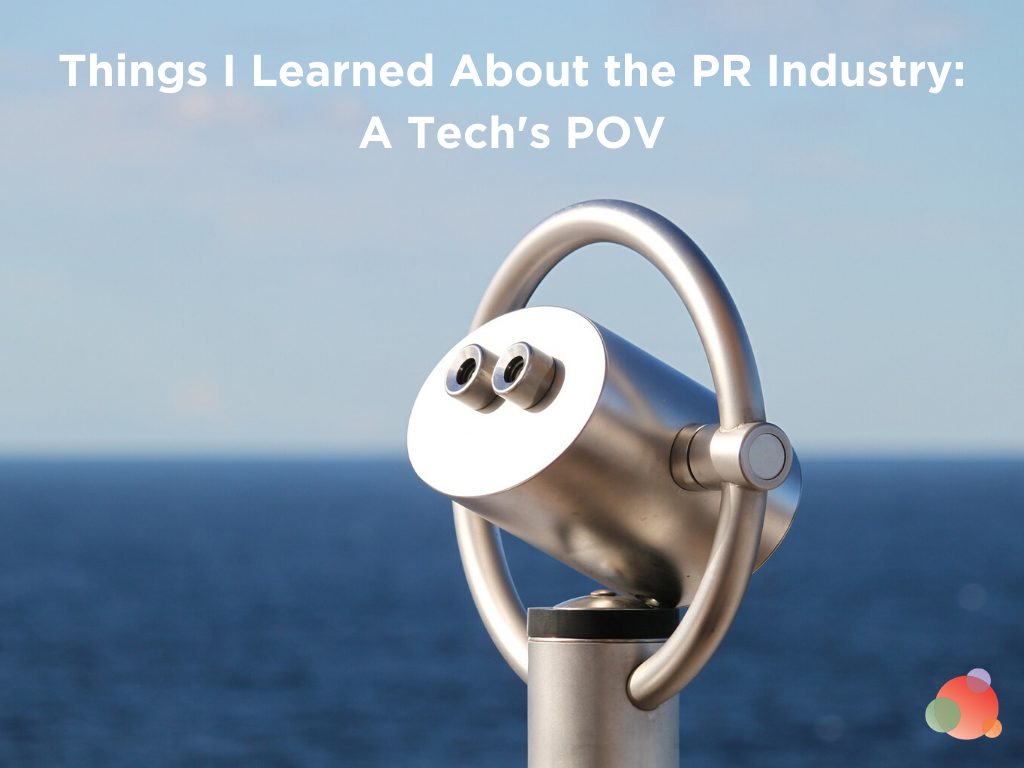 Things I Learned About the PR Industry