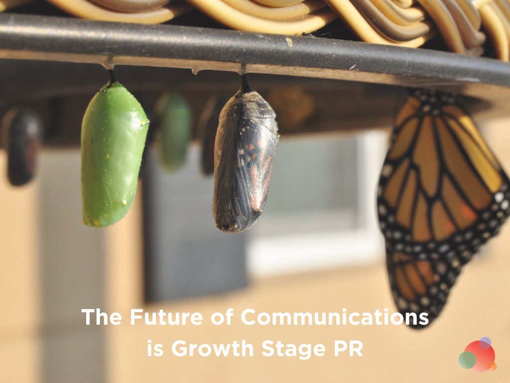 Future of Communications is Growth Stage PR