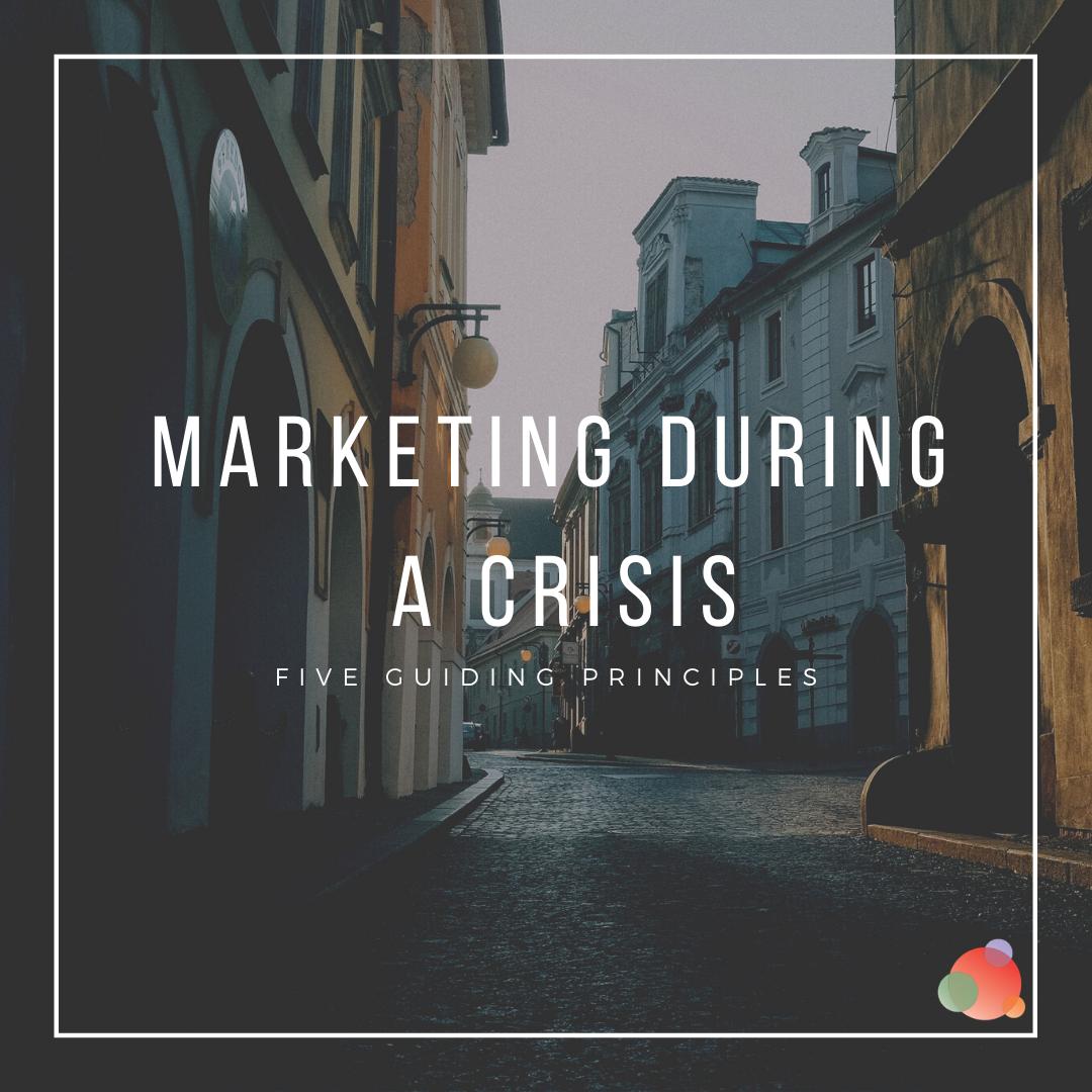 Market during a crisis