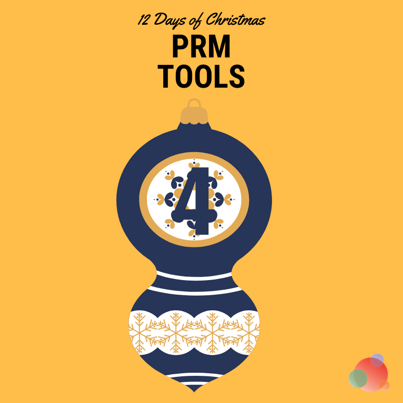 12 Days of Christmas: Four PRM Tools to Use In Earned Media
